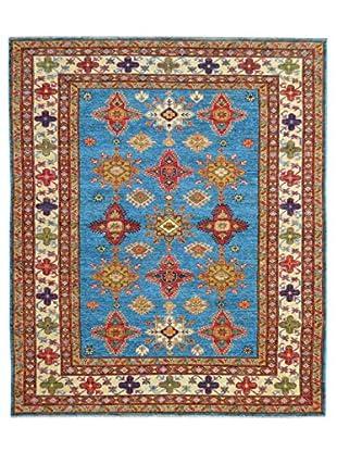 Kalaty One-of-a-Kind Kazak Rug, Blue, 5' x 6' 10