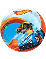 American Greetings Hot Wheels Round Plate (8 Count), 7