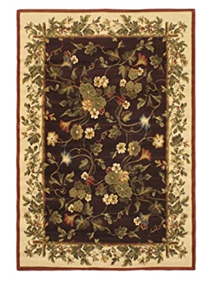 Jardiniere Rug, Dull Red, 5' 3