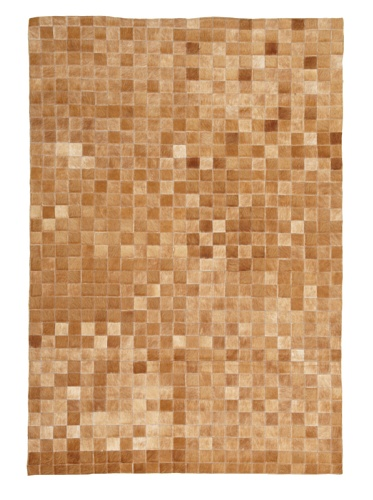 Hide Rug Checker Board, 4' x 6'