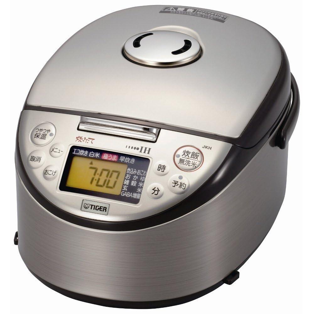 tiger ih电饭煲 炊きたて>(1.0升炊き) ブラウン jkh-t180-t