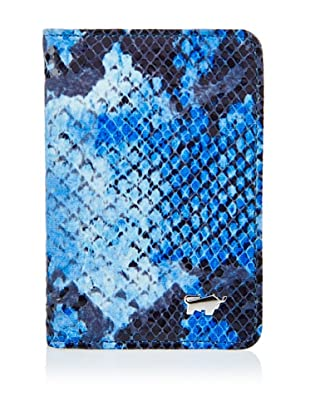 Braun Büffel Kreditkartenetui (Blau)