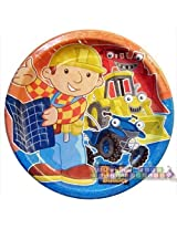 Bob The Builder Dinner Plates 8 Count