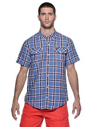 Timberland Camisa Harmon (Azul/Rojo)