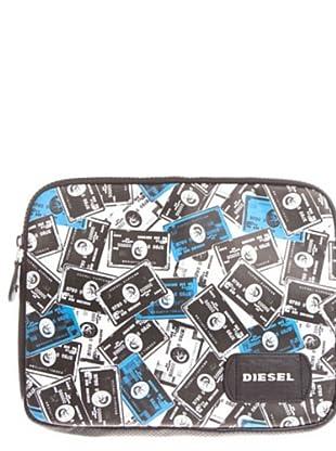 Diesel Funda Portátil blanco / negro / azulon