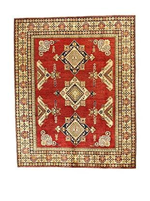 L'Eden del Tappeto Teppich Uzebekistan rot/beige 324t x t260 cm