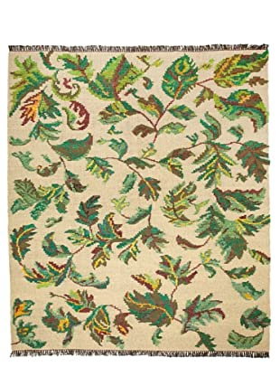 Flatweave Leaves, 8' x 10'