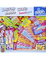 MasterPieces Puzzle Company Candy Brands Wonka Candies Jigsaw Puzzle (1000-Piece)