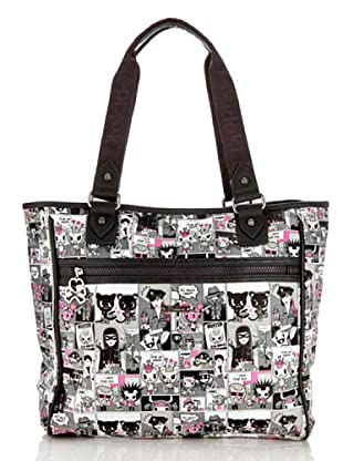 Tokidoki Shopping Bag  Comics grau