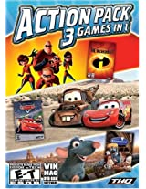 Disney Pixar Collection: 3 Games in 1 (Incredibles/Cars/Ratatouille) (PC)