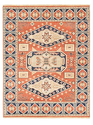 Hand-Knotted Royal Kazak Rug, Copper, 7' x 9'