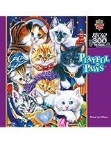 300-Piece Dress Up Kittens Puzzle Art by Jenny Newland