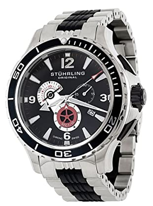 STÜRLING ORIGINAL 270.332D71 - Reloj de Caballero movimiento de cuarzo con correa caucho