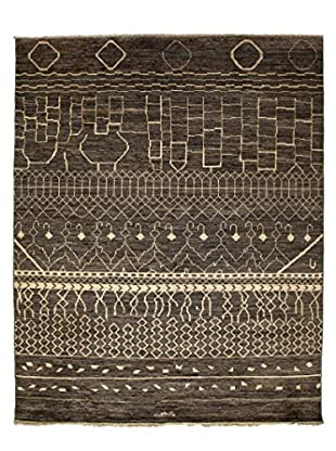 Darya Rugs Moroccan One-of-a-Kind Rug, Silver, 8' x 10'