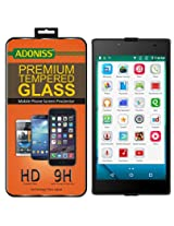 Adoniss Premium Tempered Glass Screen Protector For Micromax Canvas Amaze 4G Q491