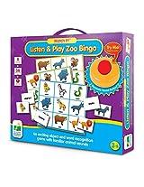 The Learning Journey Match It! Listen & Play Bingo, Zoo