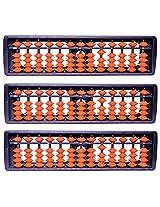 VSR EDUCARE Abacus - Set of 3 (Blue & Orange)