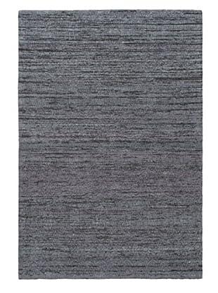 Handwoven Fab Dhurrie, Dark Grey/Grey, 4' 5