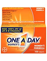 One-A-Day Women's Multivitamin, Tablets - 100-Count