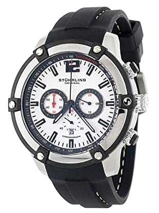 STÜRLING ORIGINAL 268.332D62 - Reloj de Caballero movimiento de cuarzo con correa de silicona