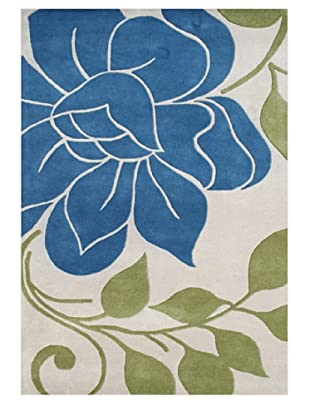 Alliyah Rugs Alliyah Collection (Beige/Blue/Green)