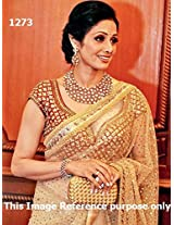 Sridevi in Sizzling Net Bollywood Replica Saree