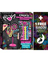Chox'd Jewelry Stand Design Kit: Fashion Angels Find Your Wings Series + 1 FREE Mini-Tapeffiti Bundle [119674]