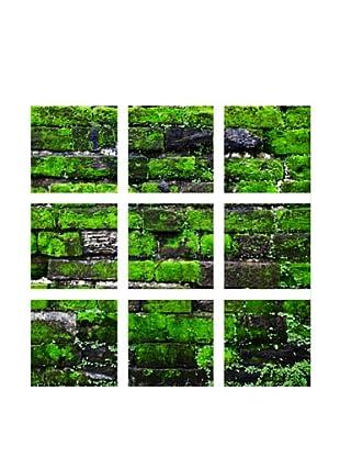 Art Addiction Brick/Moss I, Polyptych