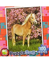 Puzzle Bug 100 Piece Puzzle ~ Pretty Pony