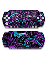 Fascinating Surprise Design Decorative Protector Skin Decal Sticker For Sony Psp 3000