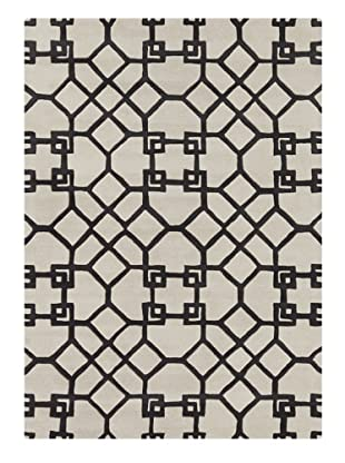 Bunker Hill Rugs Nero Hand-Tufted Rug