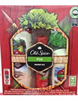 Old Spice 2015 Holiday Gift Set Warrior Pack (Fiji)