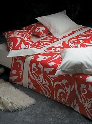 Armand Basi Juego de Funda Nórdica Ornamental (Rojo)