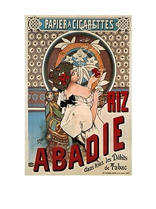 Abadie Cigs 1828 France Giclée Canvas Print