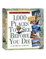 1,000 Places to See Before You Die Page-A-Day Calendar 2011