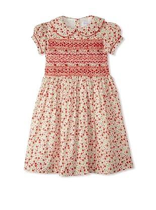 Rachel Riley Girl's Floral Smocked Dress