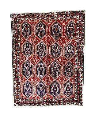 L'Eden del Tappeto Teppich Afshari rot/dunkelblau 200t x t158 cm