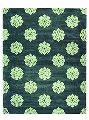 Soho Handmade New Zealand Wool Rug (Blue)
