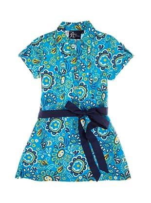 Metrokids Vestido Niña Birmingham (Azul / Amarillo)