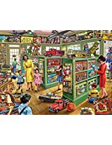 White Mountain Puzzles The Toy Store 1000 Piece Jigsaw Puzzle By White Mountain Puzzles, Inc.