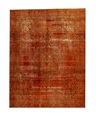 Design Community by Loomier Alfombra Revive Vintage Naranja 302 x 230 cm