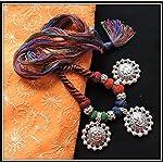 Multicolored Ganesha Thread Necklace - 02