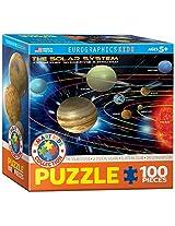 EuroGraphics Solar System Jigsaw Puzzle (100-Piece)