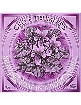 Geo F. Trumper Violet Shaving Soap Refill, 80g bar