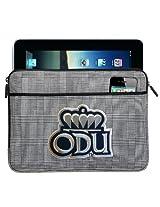 ODU Monarchs IPAD SLEEVE or Old Dominion University TABLET Case Stylish Plaid