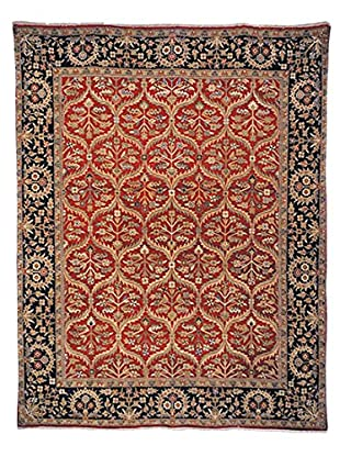 Safavieh Old World Hand-Knotted Rug, Red/Navy, 6' x 9'