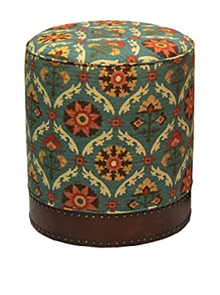 Santa Barbara Stool, Chocolate/Multi