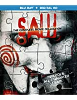 Saw: The Complete Movie Collection [Blu-ray]