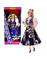Mattel Year 1995 Barbie Collector Edition Dolls of The World Collection Series 12 Inch Doll - NORWEG