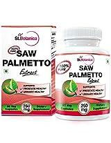 StBotanica Saw Palmetto - 250mg Extract - 60 Veg Capsules
